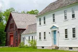 The 18th century home has undergone a multi-million dollar restoration.