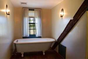 The home has four full baths.