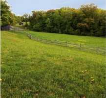 Several walking trails are located on the property.