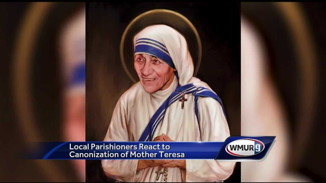 From Mother Teresa to St. Teresa: Pope Francis made the declaration Sunday, officially naming the missionary a saint during Mass in St. Peter's Square.
