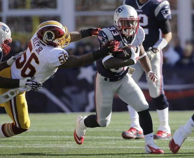 Dion Lewis is ranked 77th among running backs and 240th overall