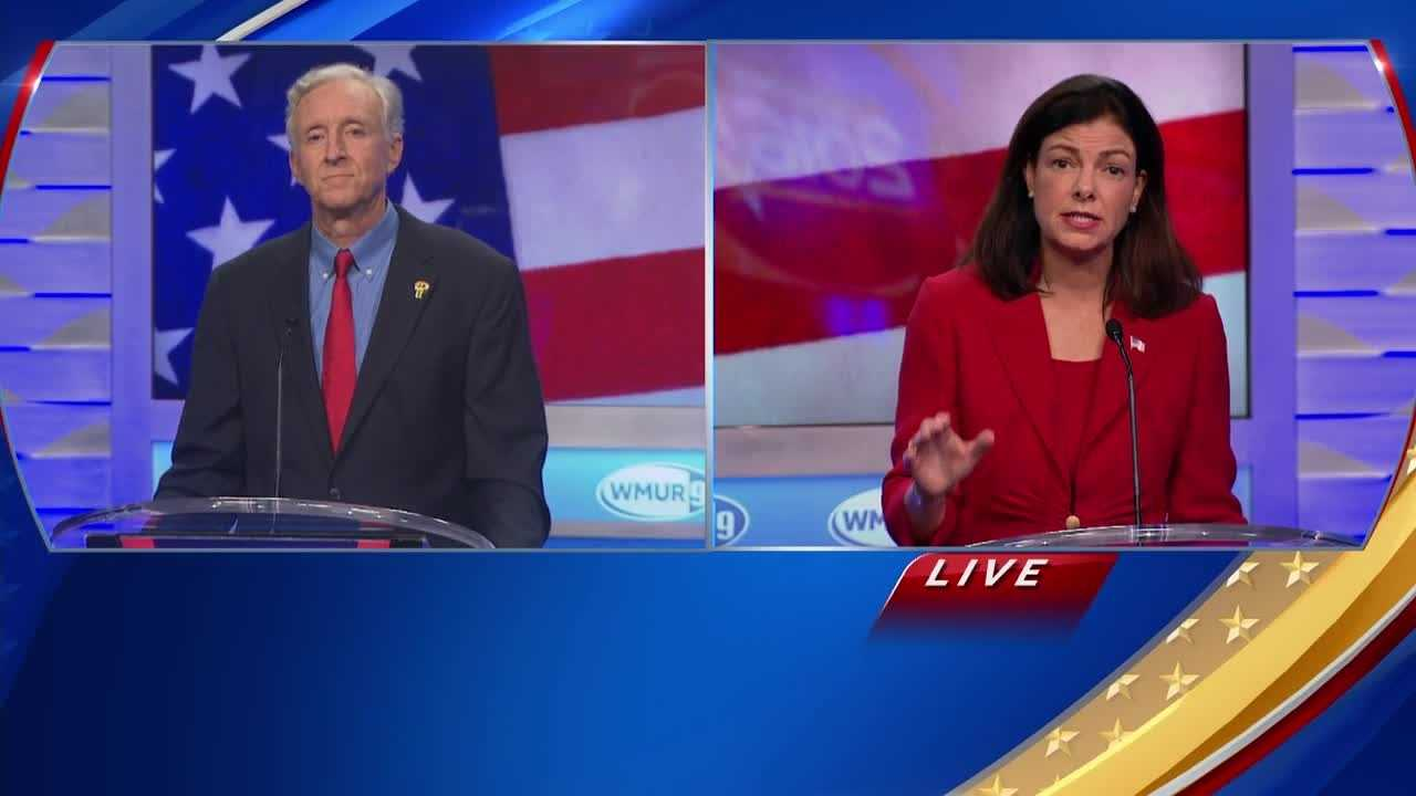 The Republican candidates for U.S. Senate discuss why they believe Donald Trump would be a successful president in their Granite State Debate before next week's primary.
