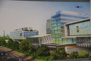 A rendering of the plans for the complete Boston Landing development.