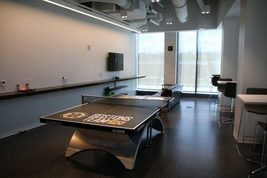The player's lounge