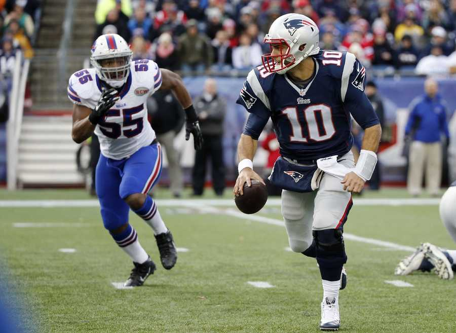 """He didn't start playing football as a quarterbackGaroppolo was a running back growing up and changed positions after meeting an NFL quarterback who worked on how he threw the ball.""""I used to throw it like a baseball player,'' Garoppolo told the Chicago Tribune. """"He also fixed my feet.''"""