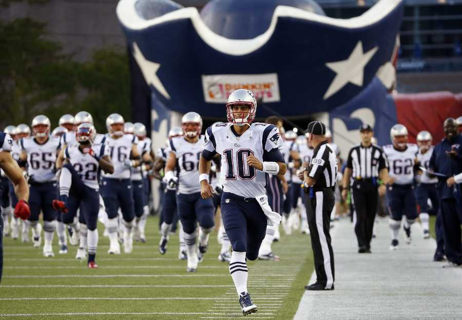 For the first time since 2002, a quarterback not named Tom Brady will start the season for the New England Patriots.