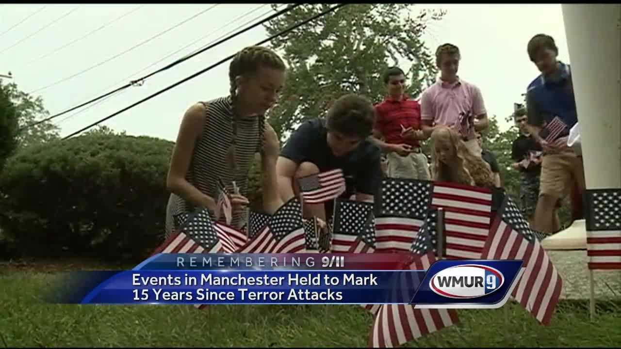 Nearly 15 years after the attacks of Sept. 11, 2001, people across the Granite State remembered those who were killed that day.