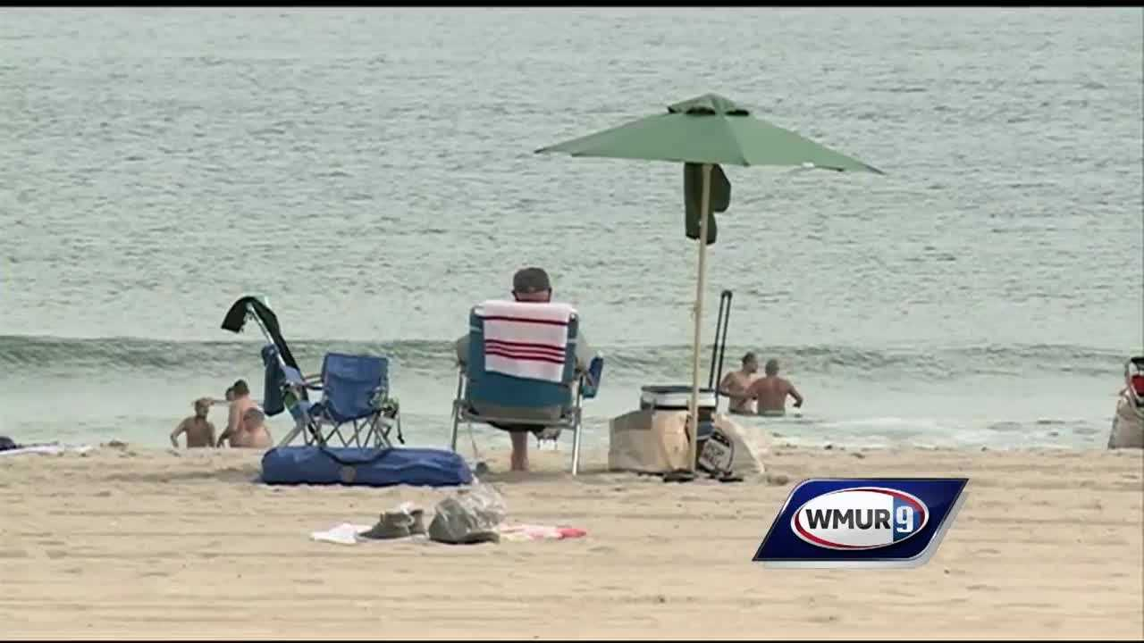 A mid-summer feel in early September sent many people to the beach Friday.