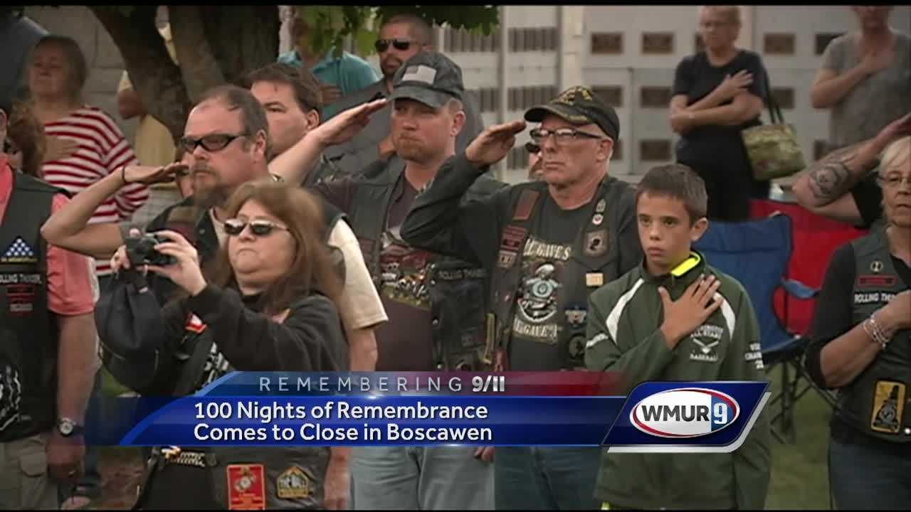 On the 15th anniversary of the Sept. 11 terrorist attacks, people across New Hampshire were honoring the victims lost that day.