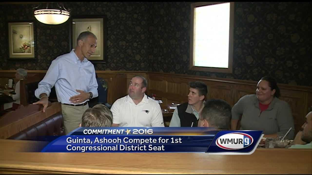 In the First Congressional District, two Republican candidates are vying for their party's nomination.