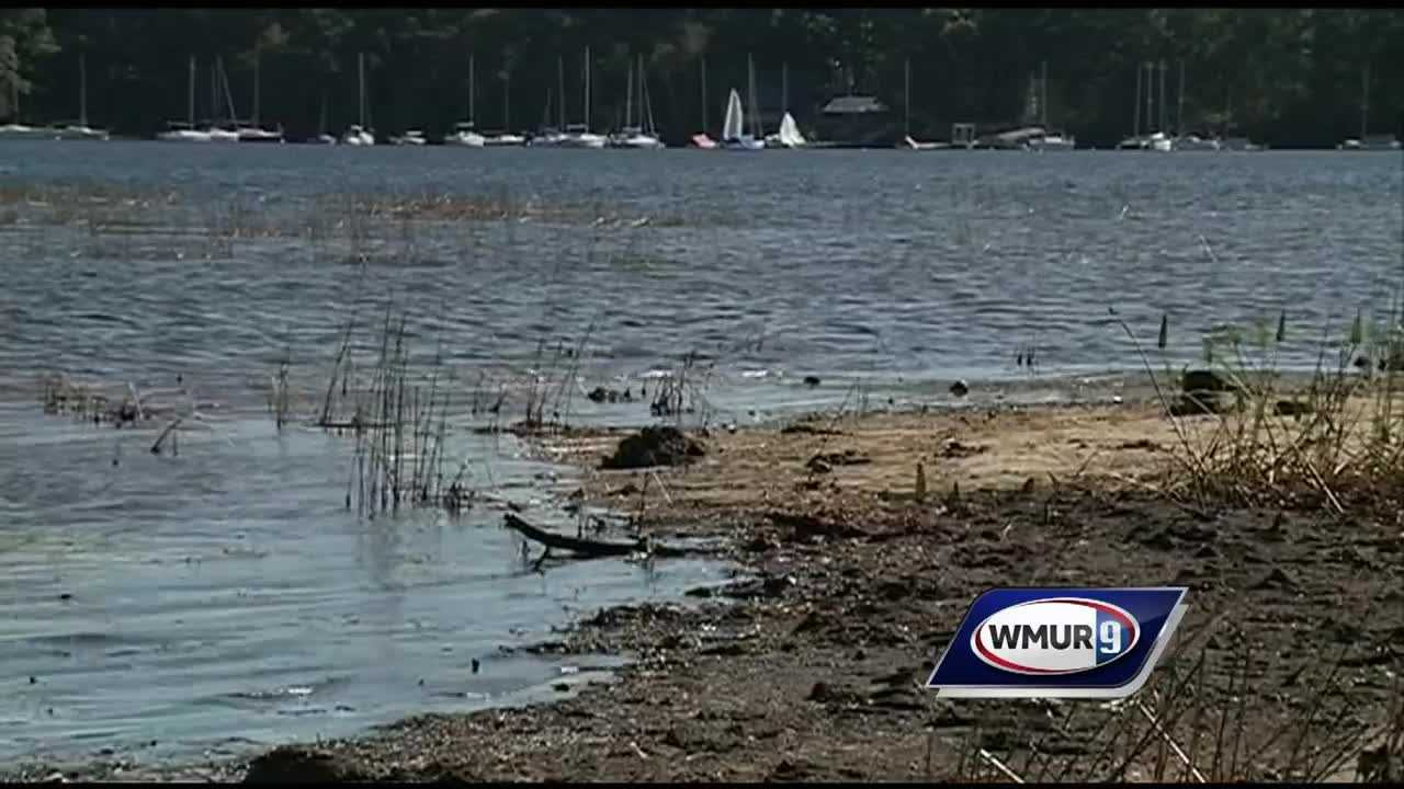 New Hampshire environmental officials are urging residents across the state to use less water after a severe drought has lowered water levels in lakes and streams to levels never seen before.