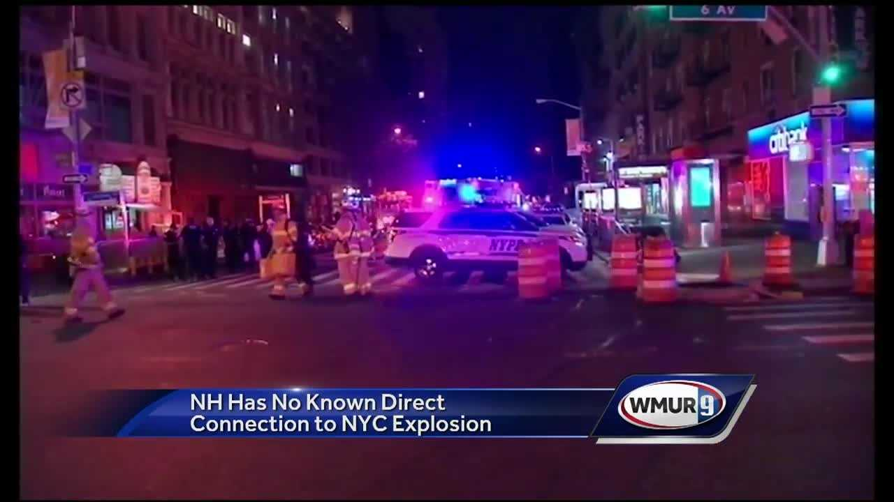 NH Has No Known Direct Connection to NYC Explosion