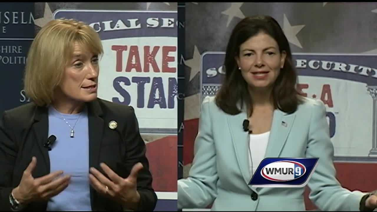 Both candidates in New Hampshire's U.S. Senate race are calling for a more vigilant stance in Washington and overseas in the wake of terrorism investigations in New York and Minnesota.