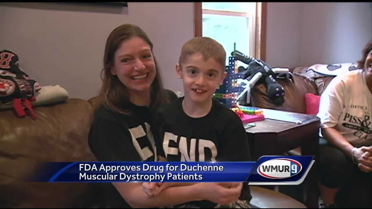 A Windham family received great news on Monday when they found out that a drug that could change the life of their son, who is living with a fatal disease, was finally approved by the FDA.