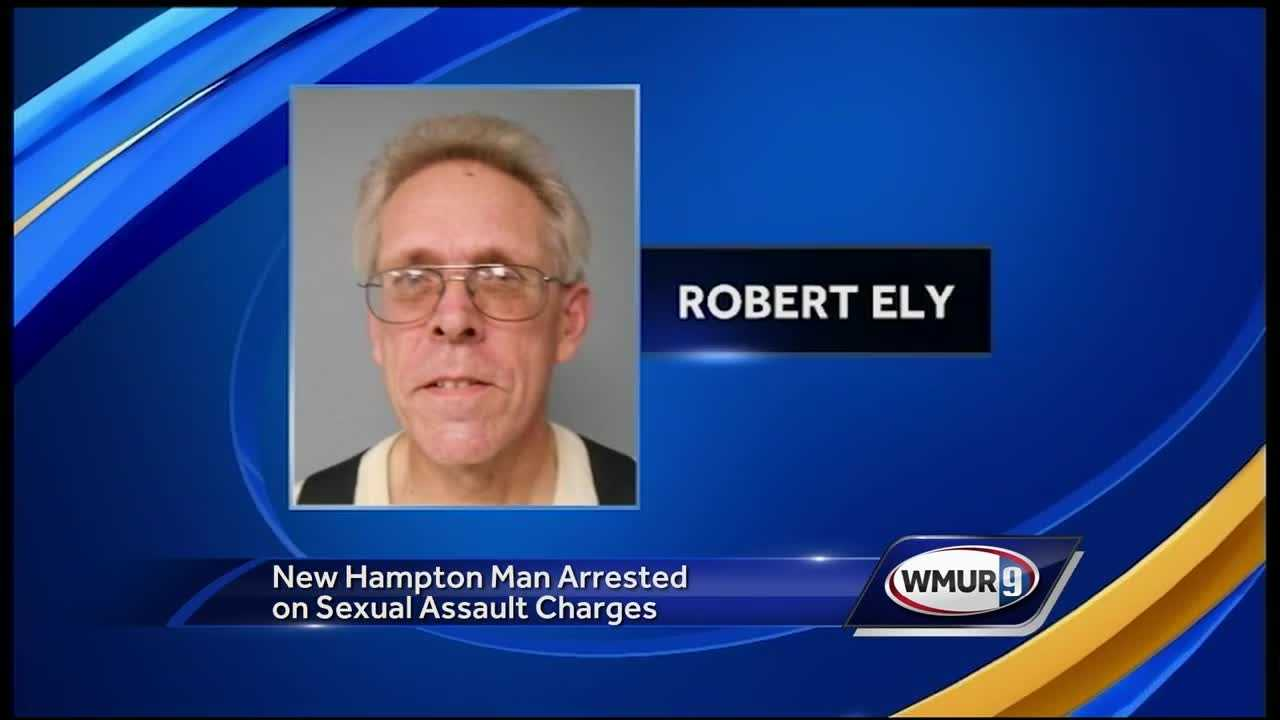 A 10-year investigation has led to sexual assault charges against a New Hampton man, police said.