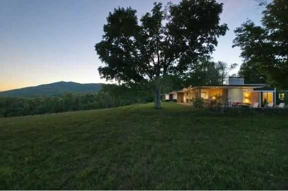 The home sits on 135-acre lot.
