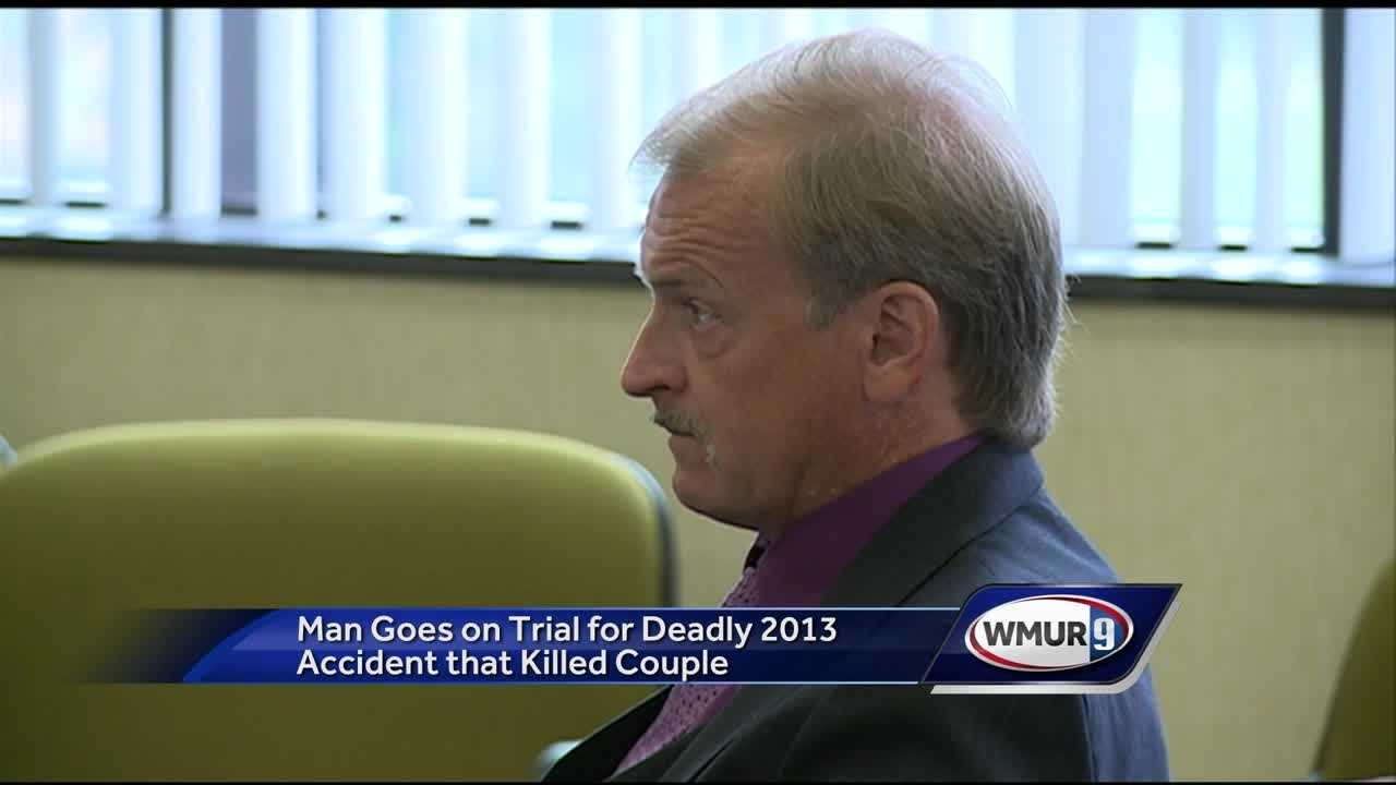 A trial has started for a man charged with negligent homicide in a fatal crash three years ago.