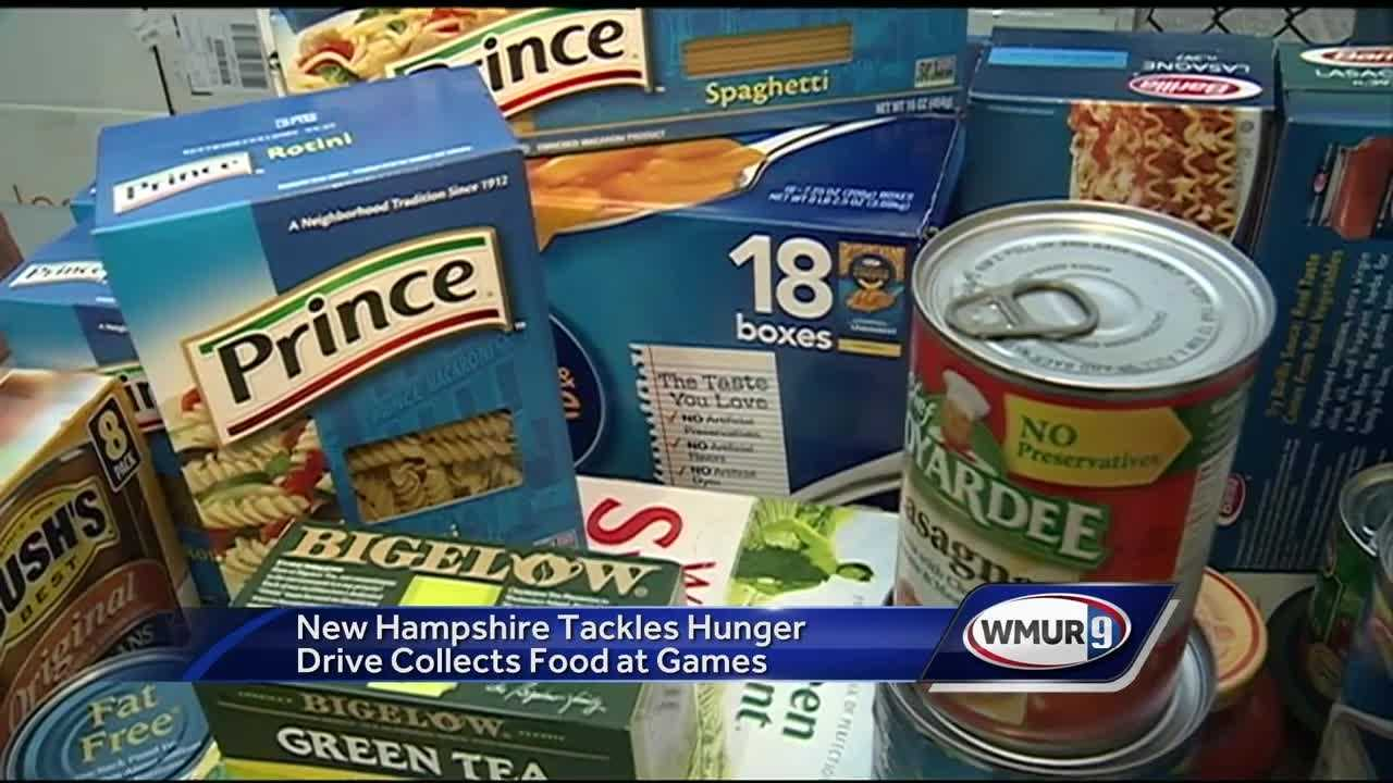 It was a special night for high school football as a number of teams took part in the fourth annual New Hampshire Tackles Hunger drive.