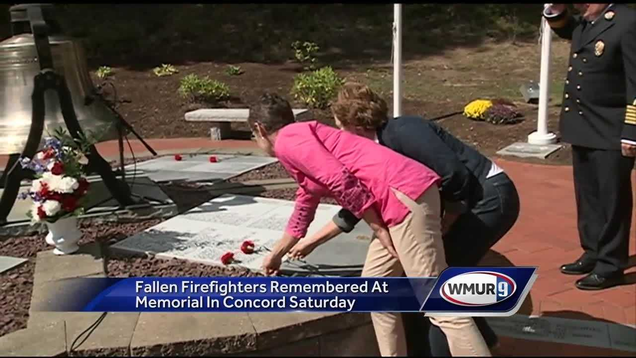 Fallen Firefighters Remembered at Memorial in Concord Saturday