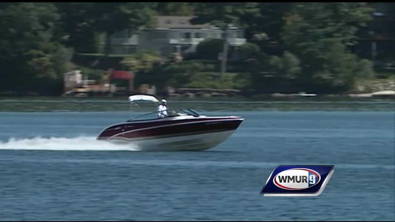 As the state's severe drought continues, water levels have dropped on Granite State lakes, causing dangers for boats.