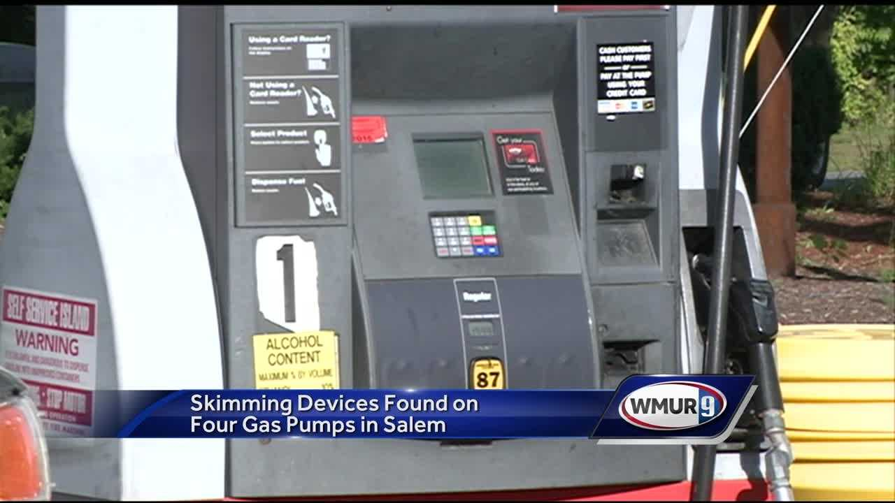 Salem police are putting out a warning to anyone who filled up at two gas stations in the town, after skimming devices were found on four pumps.