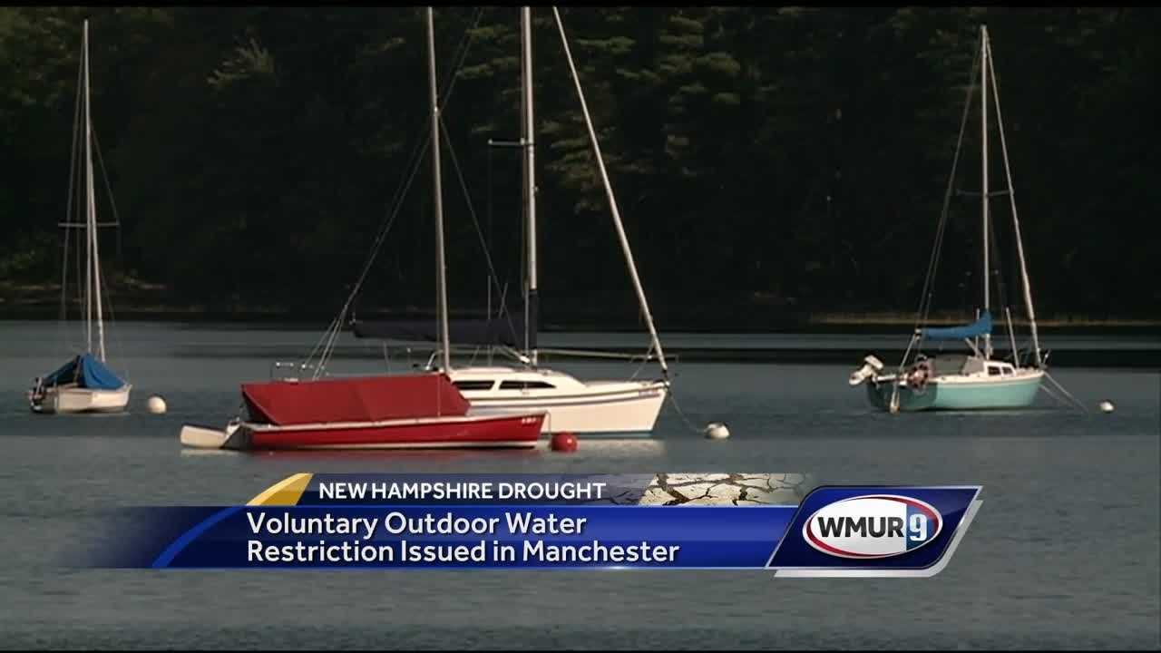 The Manchester board of water commissioners is asking residents to voluntarily limit their outdoor water use.