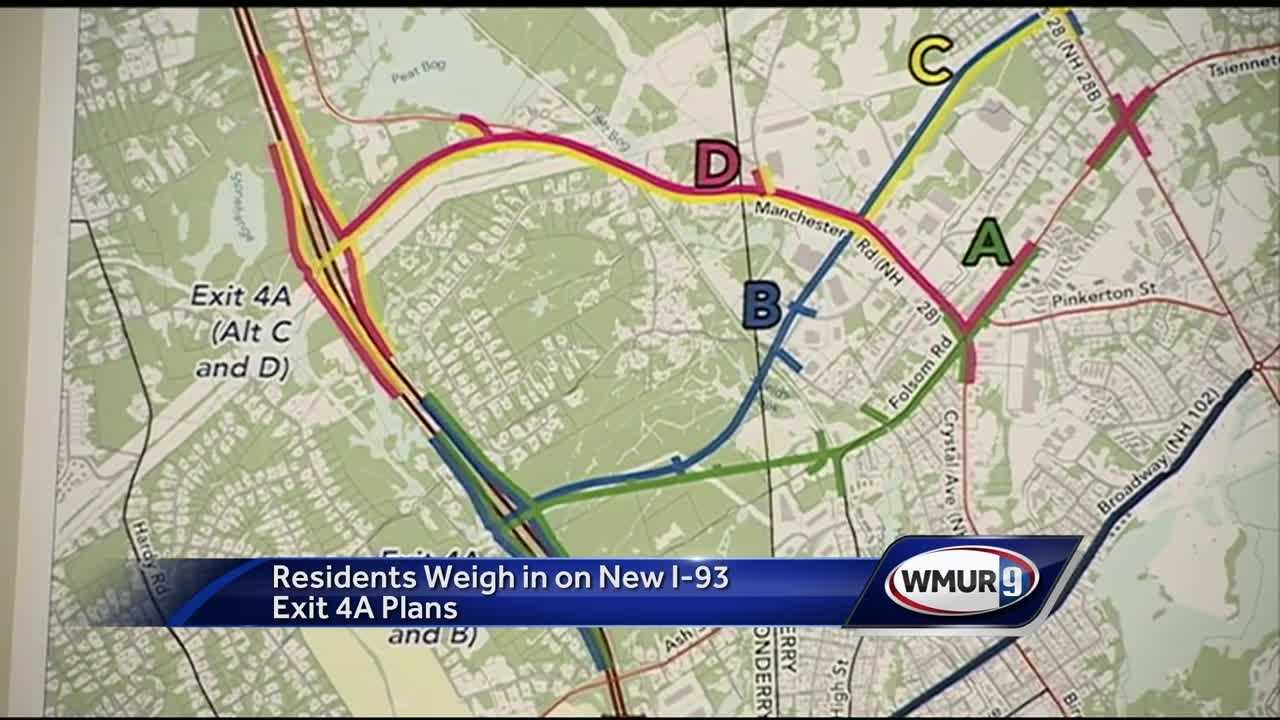 The New Hampshire Department of Education laid out its plans for a big change to Interstate 93 at an informational meeting Tuesday.