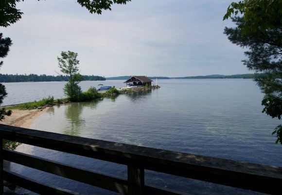The location is one of the finest areas on Lake Winnipesaukee.