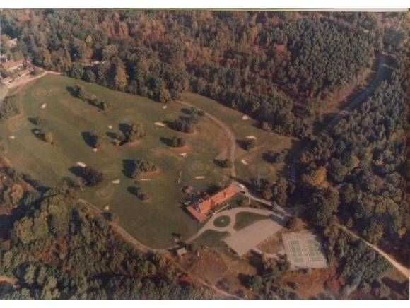 Here's an aerial view of the property.
