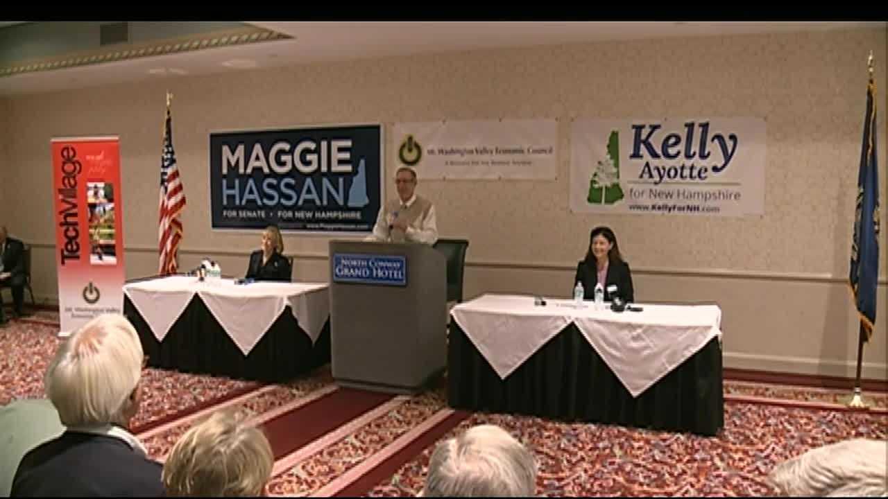 Ayotte, Hassan spar in New Hampshire Senate debate