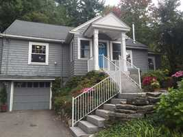 Comedian Sarah Silverman's childhood home in Bedford is on the market. Take a tour.