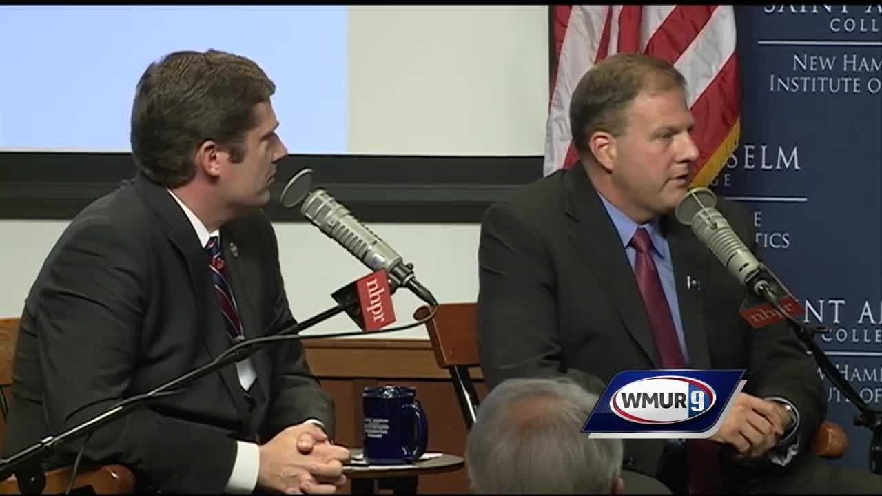 Republican Chris Sununu and Democrat Colin Van Ostern discussed their efforts to sway independent voters with News 9's Adam Sexton.