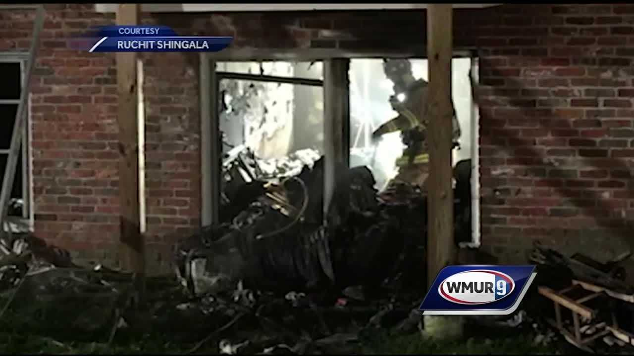 Dozens of families were able to escape a fire at an apartment building in Dover early Monday morning.