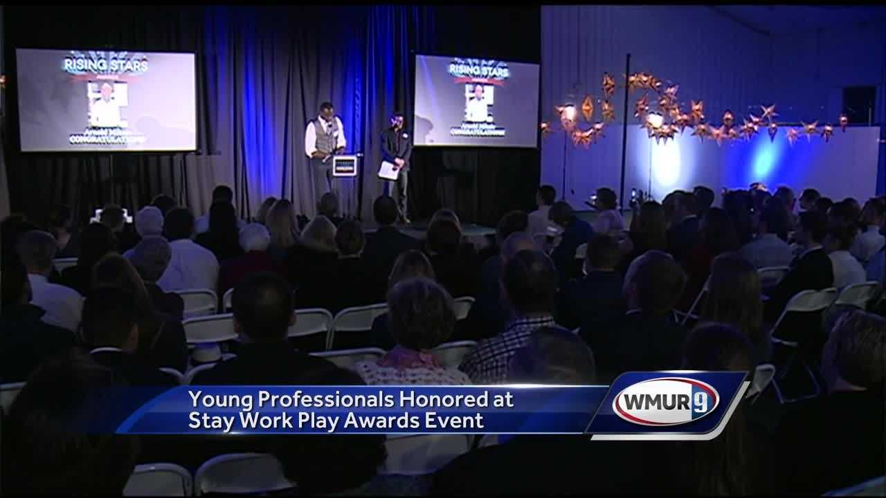 The awards are given out by Stay Work Play, an organization that encourages people in their 20s and 30s to come live in the Granite State.
