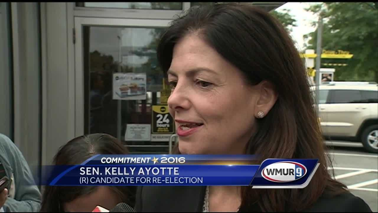 U.S. Sen. Kelly Ayotte is walking back the answer she gave in a debate when she was asked whether Republican presidential nominee Donald Trump is a good role model for children.