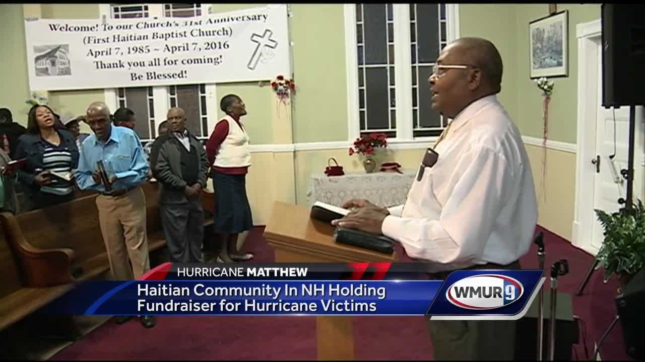 Haitian-Americans in New Hampshire say they're waiting on word from friends and family in Haiti. The island nation is currently being pummeled by Hurricane Matthew.