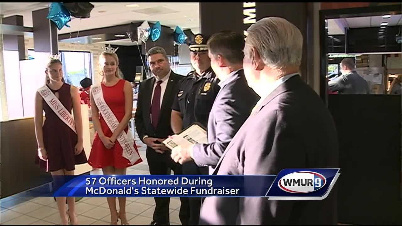 Police officers from across New Hampshire were honored Wednesday for their work in their communities.