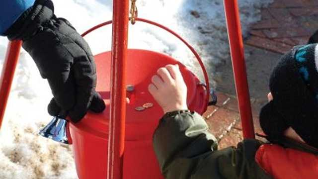 Kettle bell ringing charity