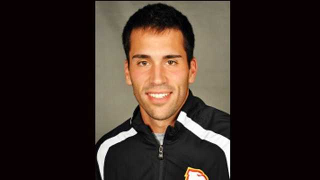 Winthrop University tennis player Luka Stanic is accused of assaulting a teammate. (Photo courtesy of Winthrop University)