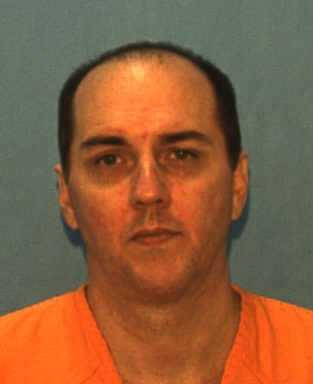 John Huggins, convicted of murder. Date of offense – 1997, date of sentence – 2002.