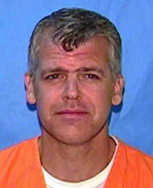 Jeffrey Hutchinson, convicted of murder. Date of offense – 1998, date of sentence – 2001.