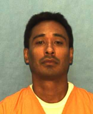 Joel Diaz, convicted of murder. Date of offense – 1997, date of sentence – 2001.