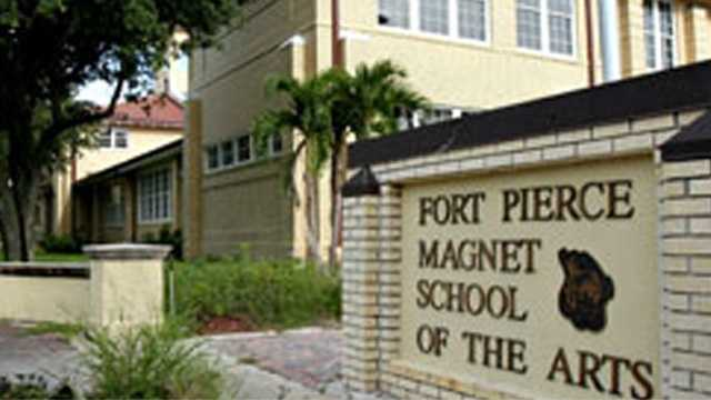 040512 Exterior Fort Pierce Magnet School of the Arts