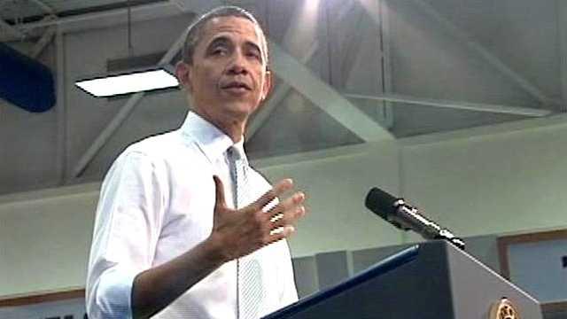 041012 Barack Obama At Podium
