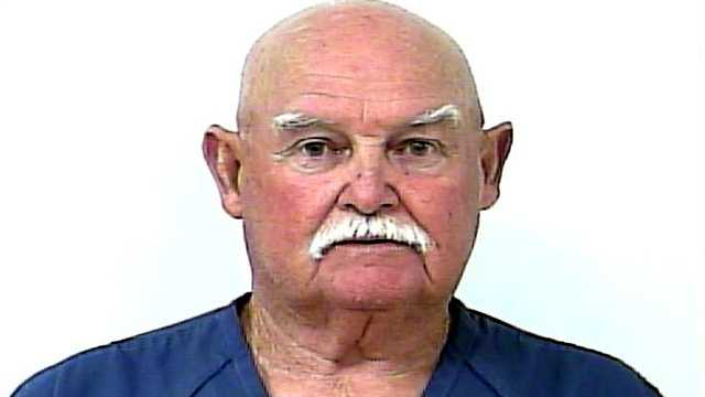 Seventy-five-year-old Donald Griffith is accused of punching his 70-year-old neighbor and leaving him with a bloody lip.