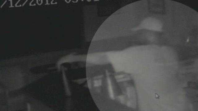 Employees at Palm Beach Flight Training are hoping someone will recognize the man caught on surveillance video burglarizing the school.