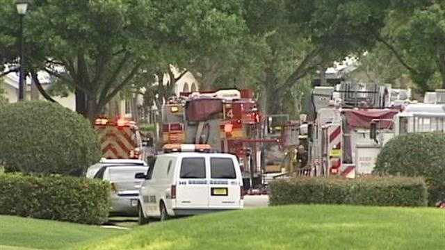 A man was found dead inside his Bear Island Drive house after a kitchen fire.