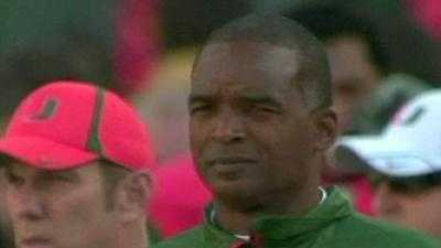 Randy Shannon, who was fired by Miami in 2010, is suing his alma mater, saying the school isn't paying him what he's owed.