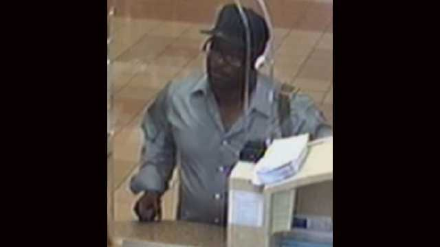 Police say this man wearing a New York Yankees hat robbed the PNC Bank on Central Boulevard.