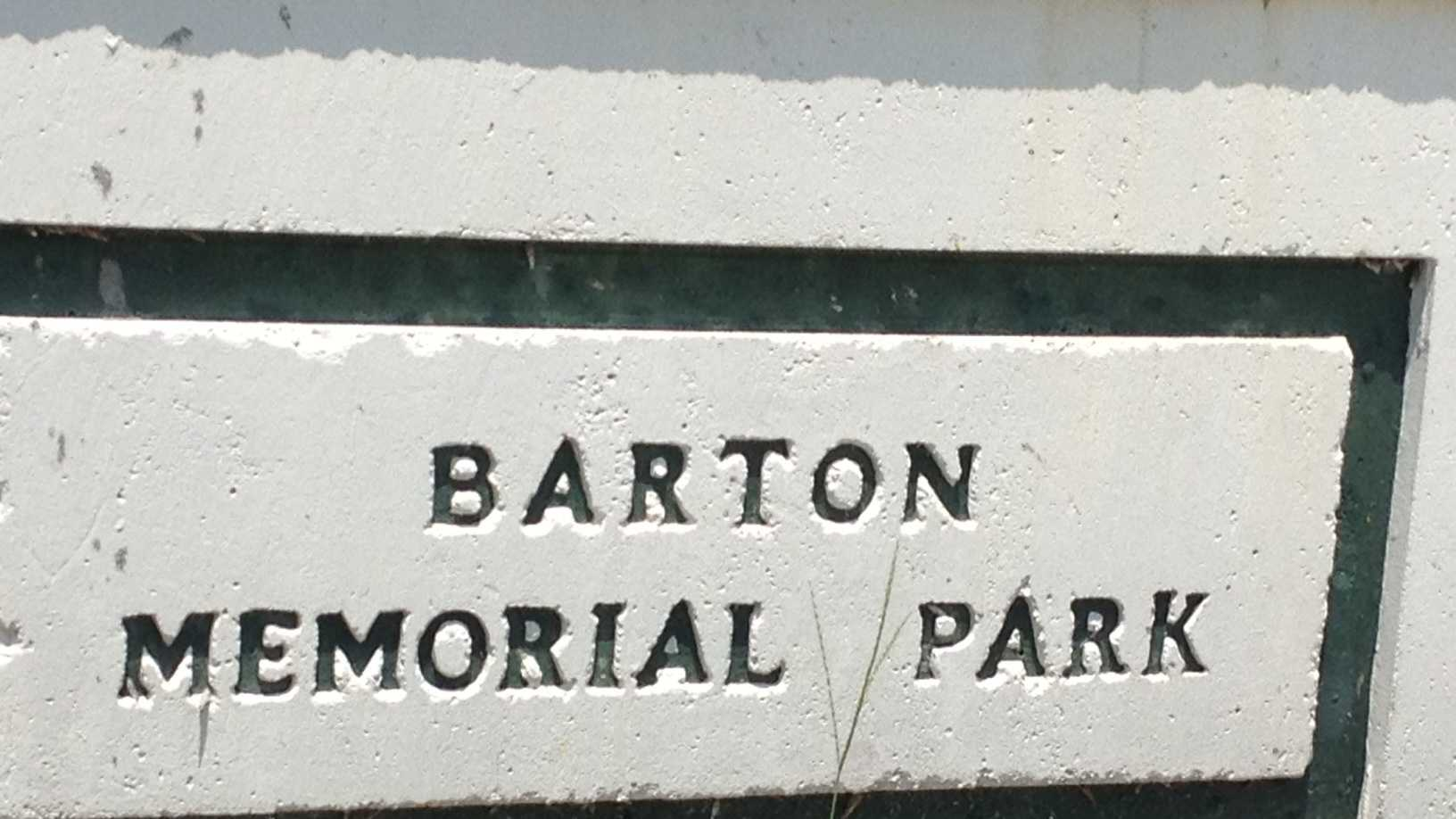 City officials are trying to determine if Barton Memorial Park is eligible to be designated as a historical site. (Angela Rozier/WPBF)